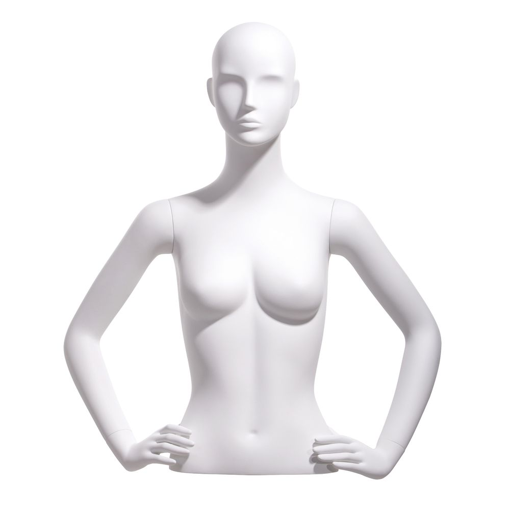Hands on hips Female Bust Form