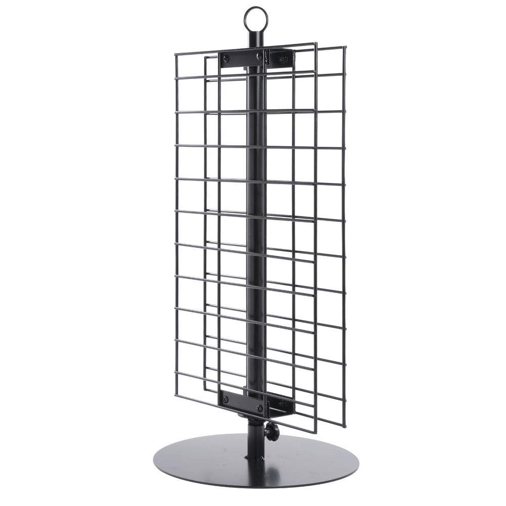RACK, SPINNER, COUNTER, WIRE, BLACK, 12x26.5