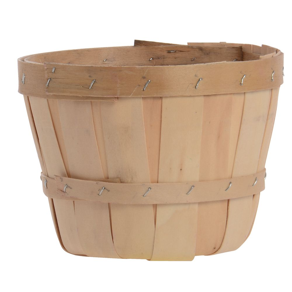 1/2 Peck Farm Basket with Side Handles
