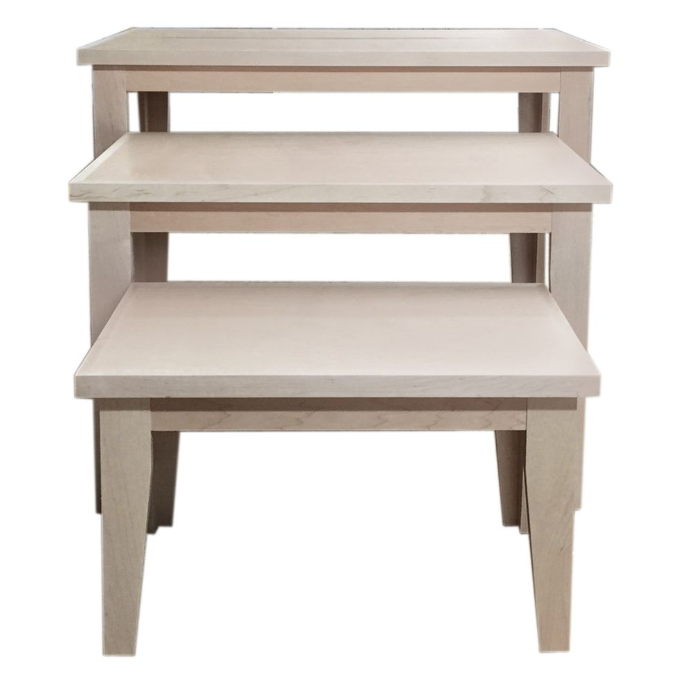 Retail Display Nesting Table