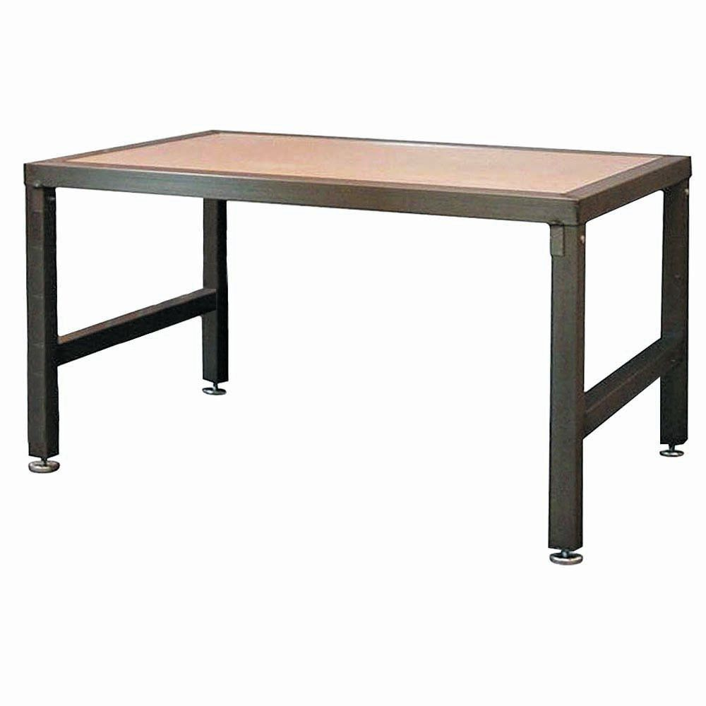 TABLE, STEEL FRM W/MDF TOP, 60 X 30 X 32H