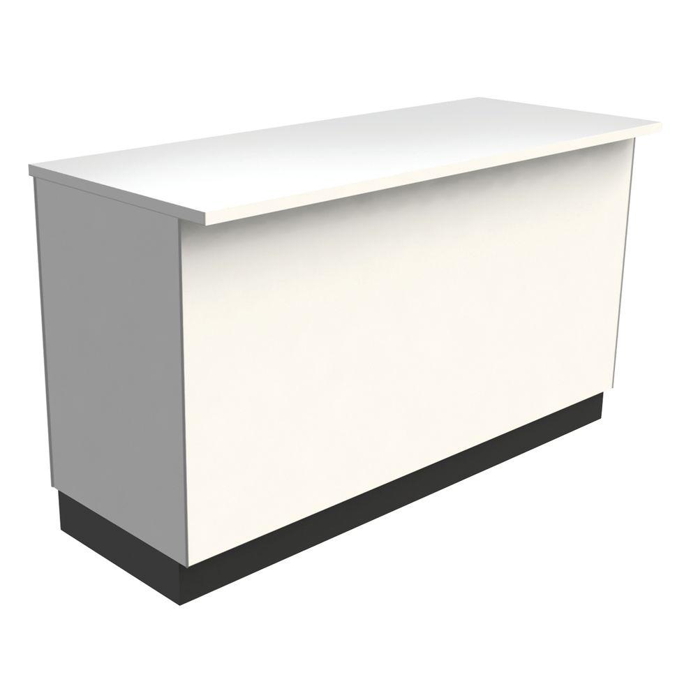Ada Compliant White Wrap Counter 60 W X 24 D