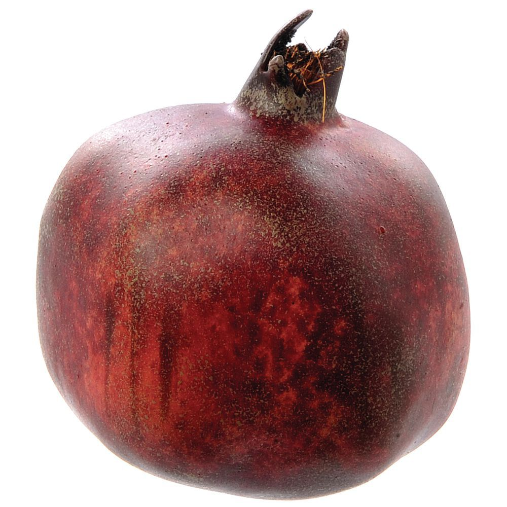 Larger red artificial pomegranate for Artificial pomegranate decoration