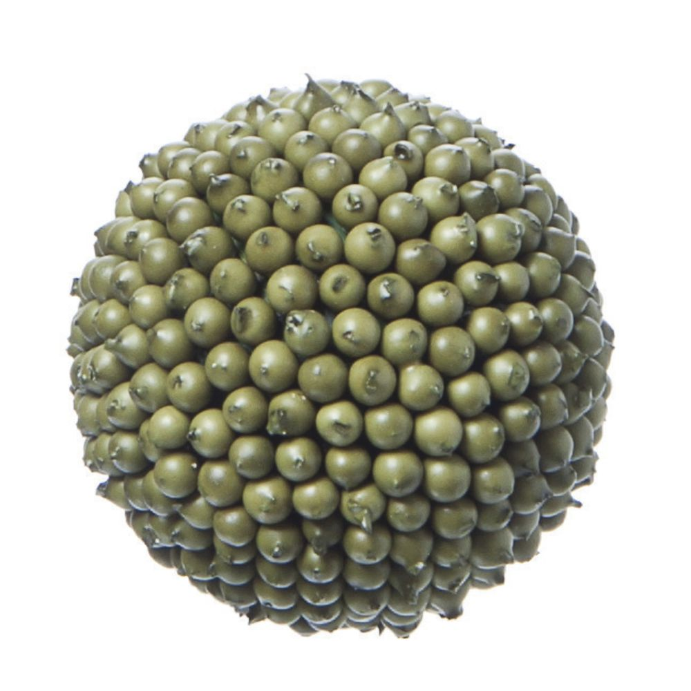 "Décor Balls Sage Green 4""Dia"