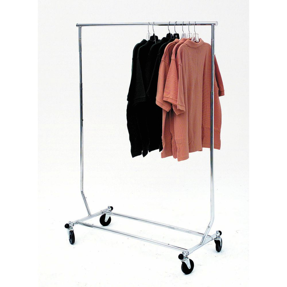 Round Tubing Collapsible Garment Rack