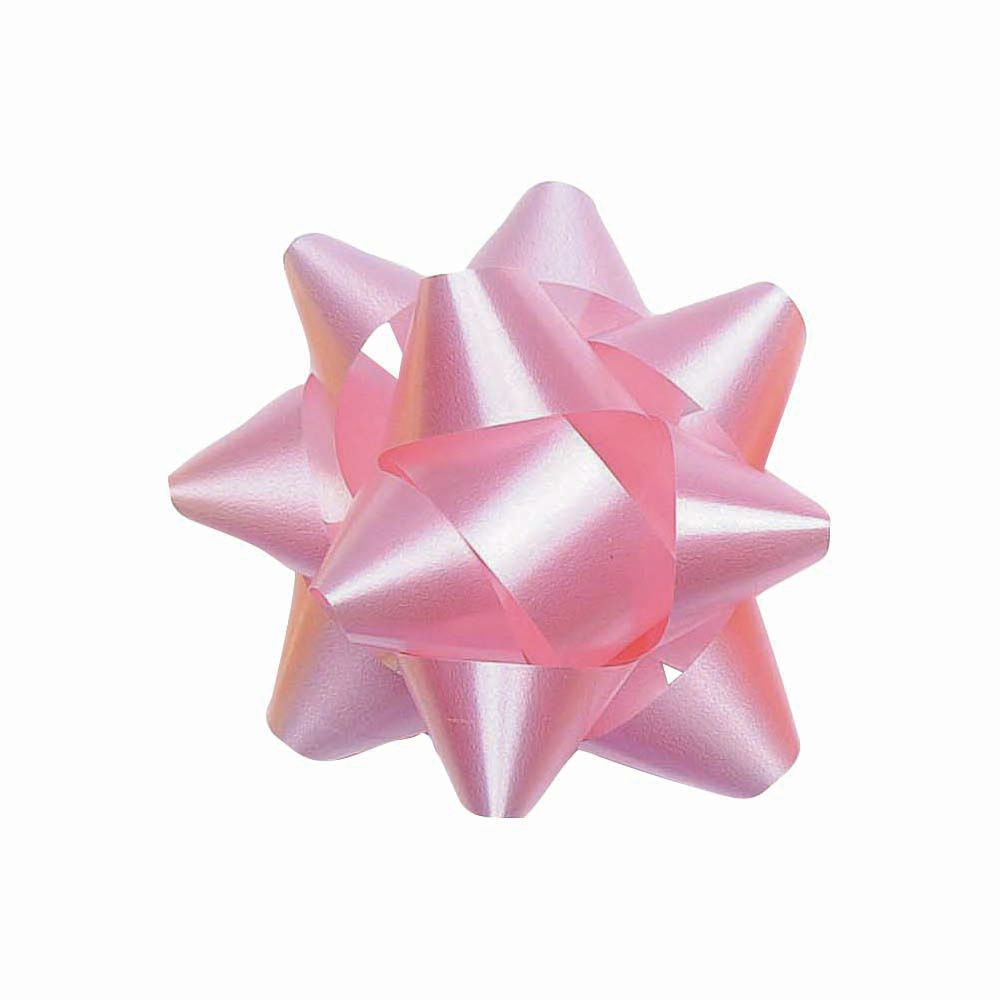 Star Gift Bow, Pink