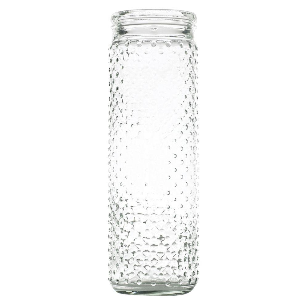 JAR, HOBNAIL, CLEAR, 4X10