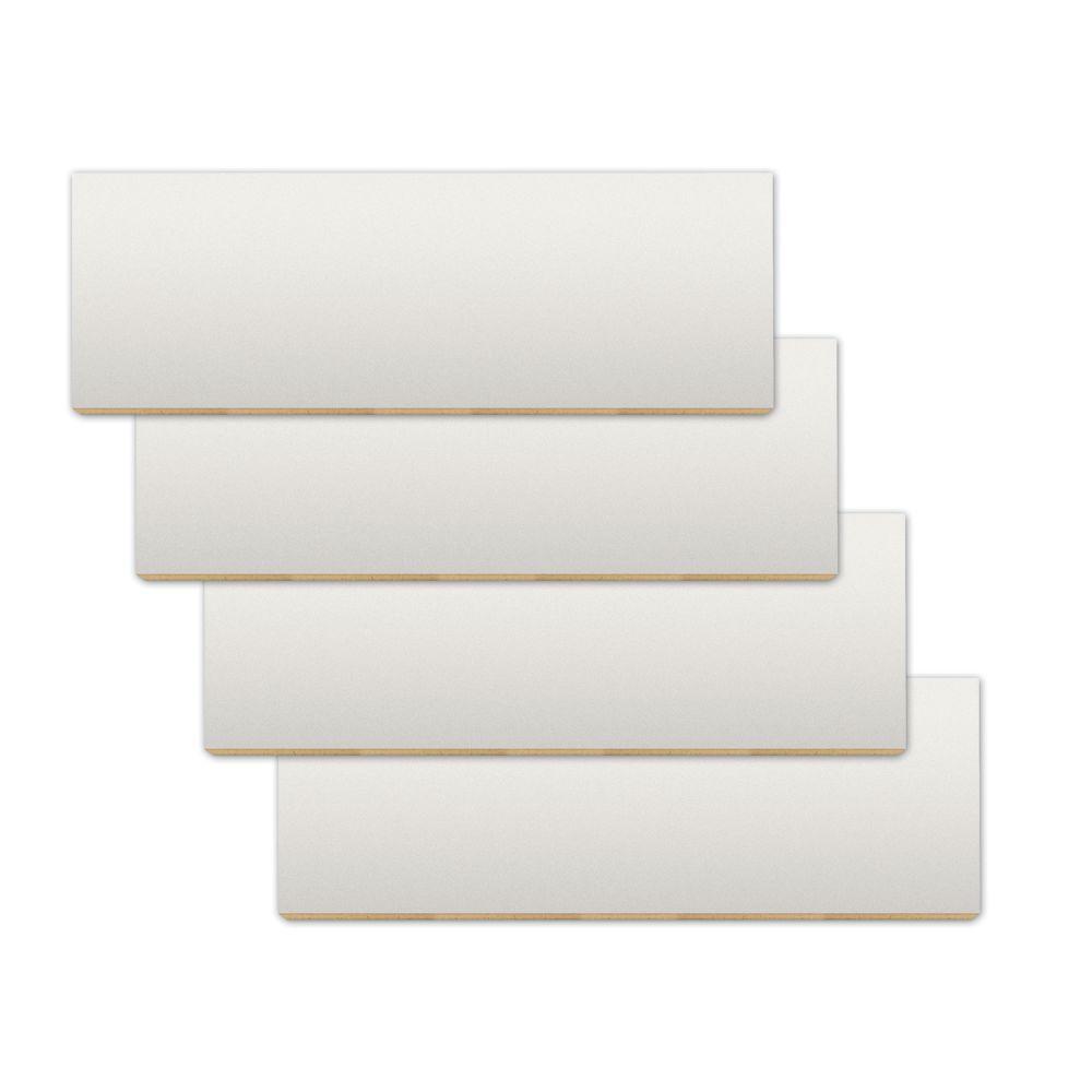 "22 1/2"" x 8"" Slatwall Display Shelf, White"