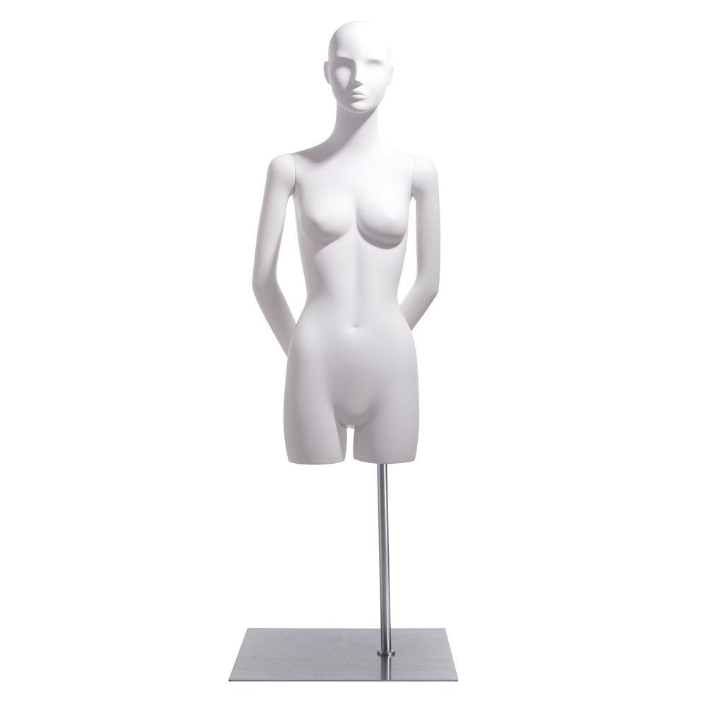 Hands behind Back Female Bust Form