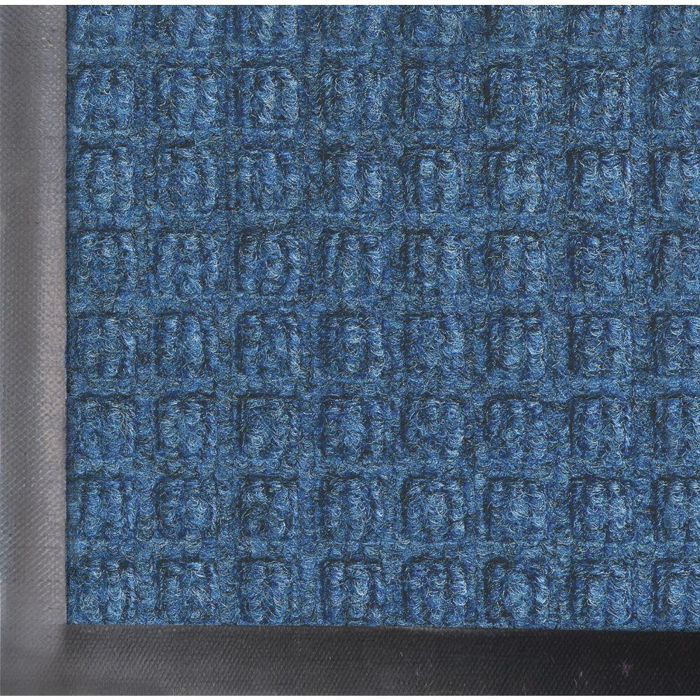MAT, 4'X10' WATERHOG, MED.BLUE