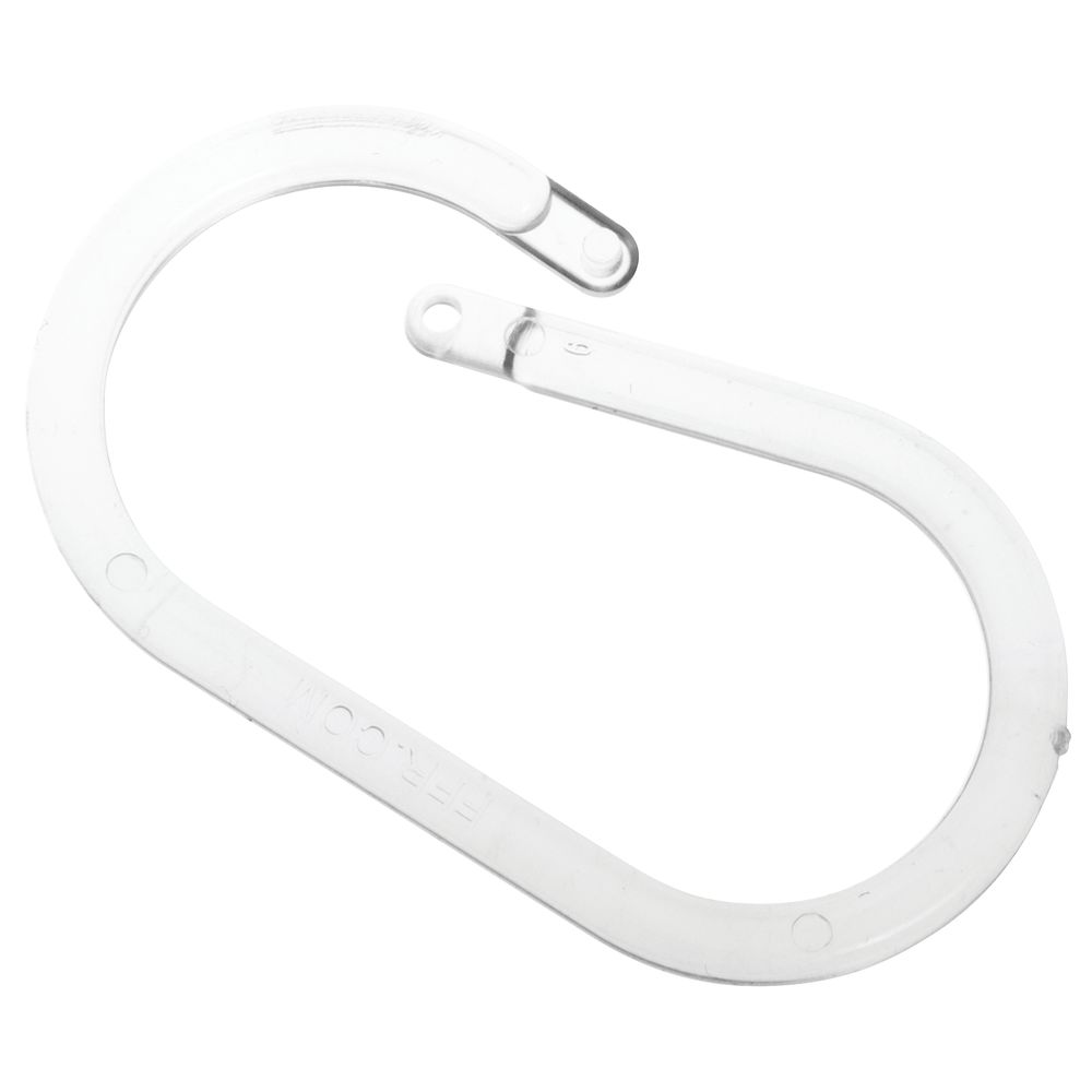 clear plastic display ring