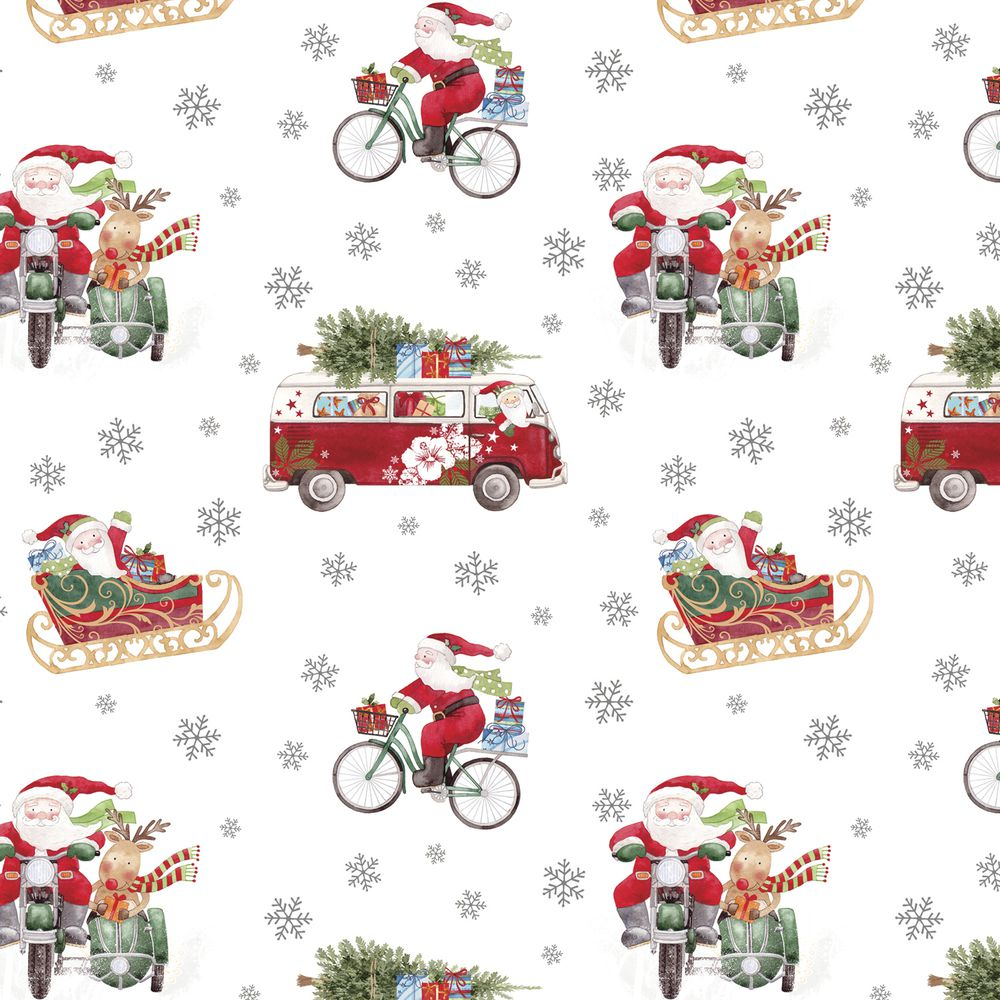 """GIFT WRAP, OUT FOR DELIVERY, 1/4 ROLL, 24""""W"""