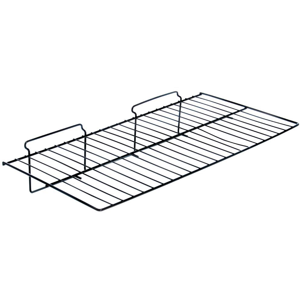 Black Slatwall Wire Shelf