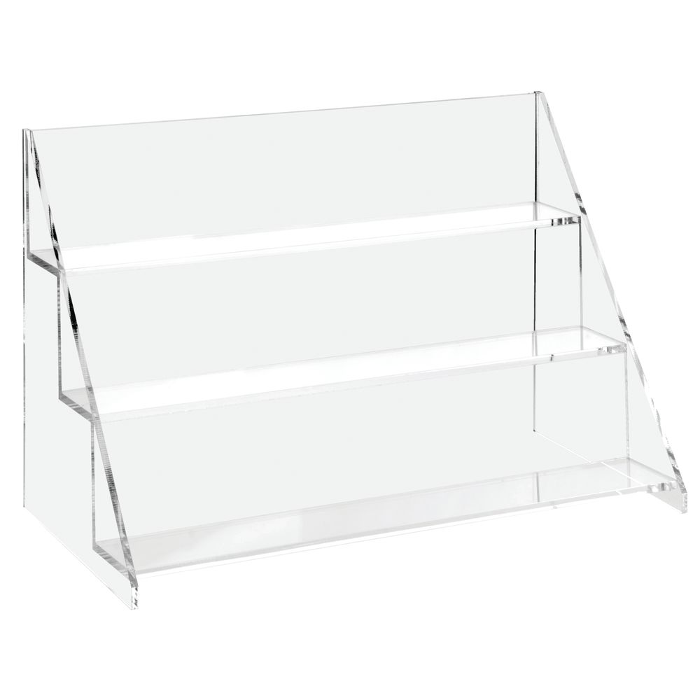 DISPLAY, 3-TIER ACRYLIC REVERSIBLE 15W
