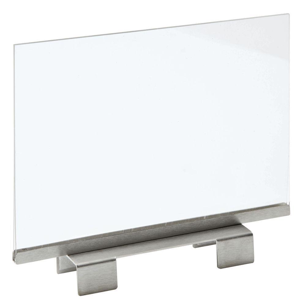 Slatwall Sign Holder, 11 x 8