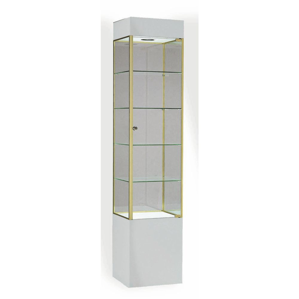 Retail Glass Display Cabinet Grey