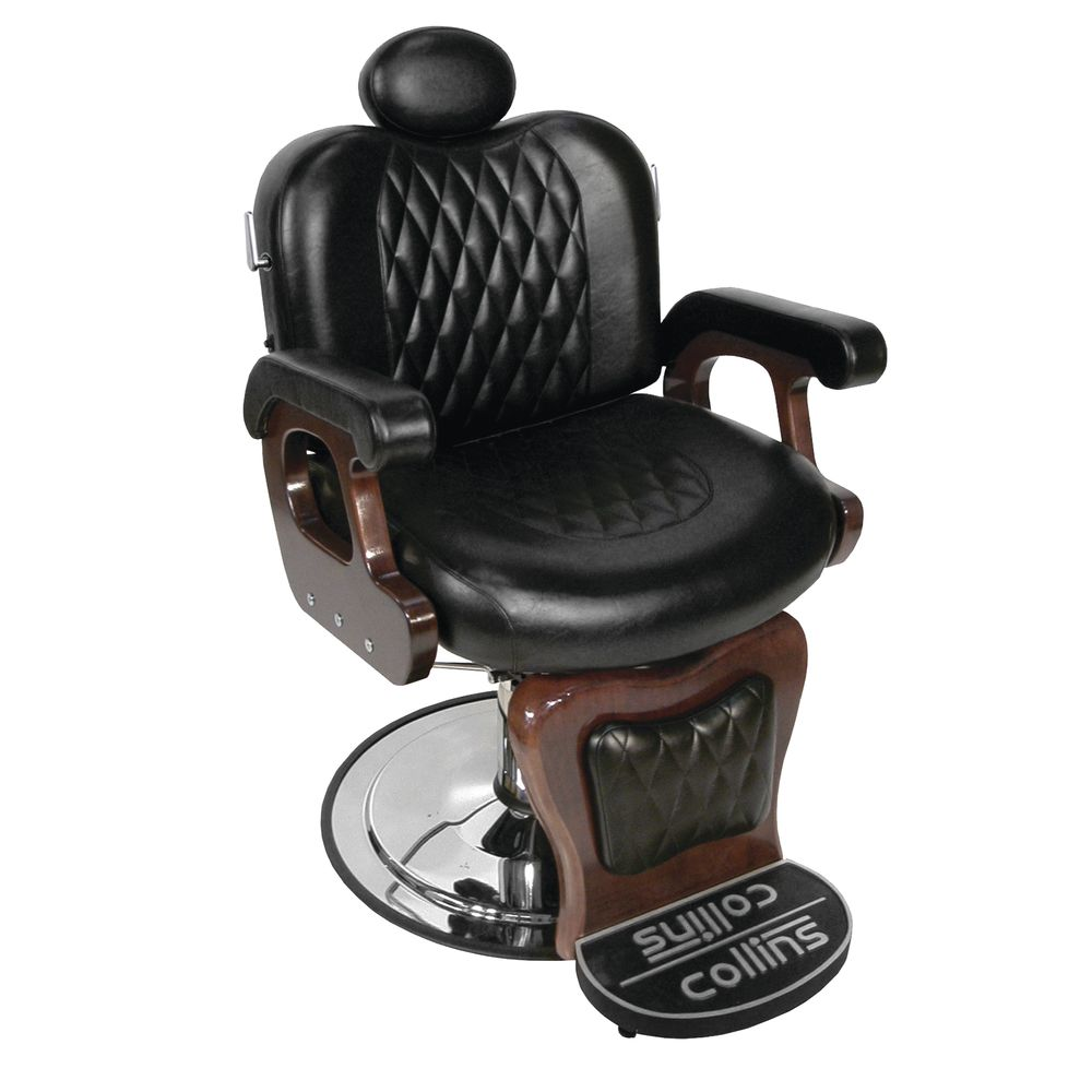 Fabulous Commander Ii Barber Chair With Foot Rest Ibusinesslaw Wood Chair Design Ideas Ibusinesslaworg
