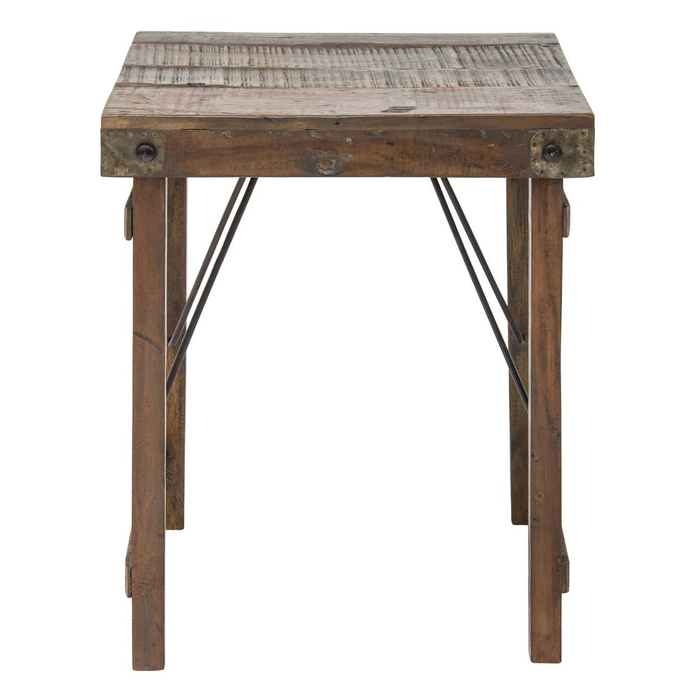 TABLE, FOLDING, WOODEN, RECYCLED