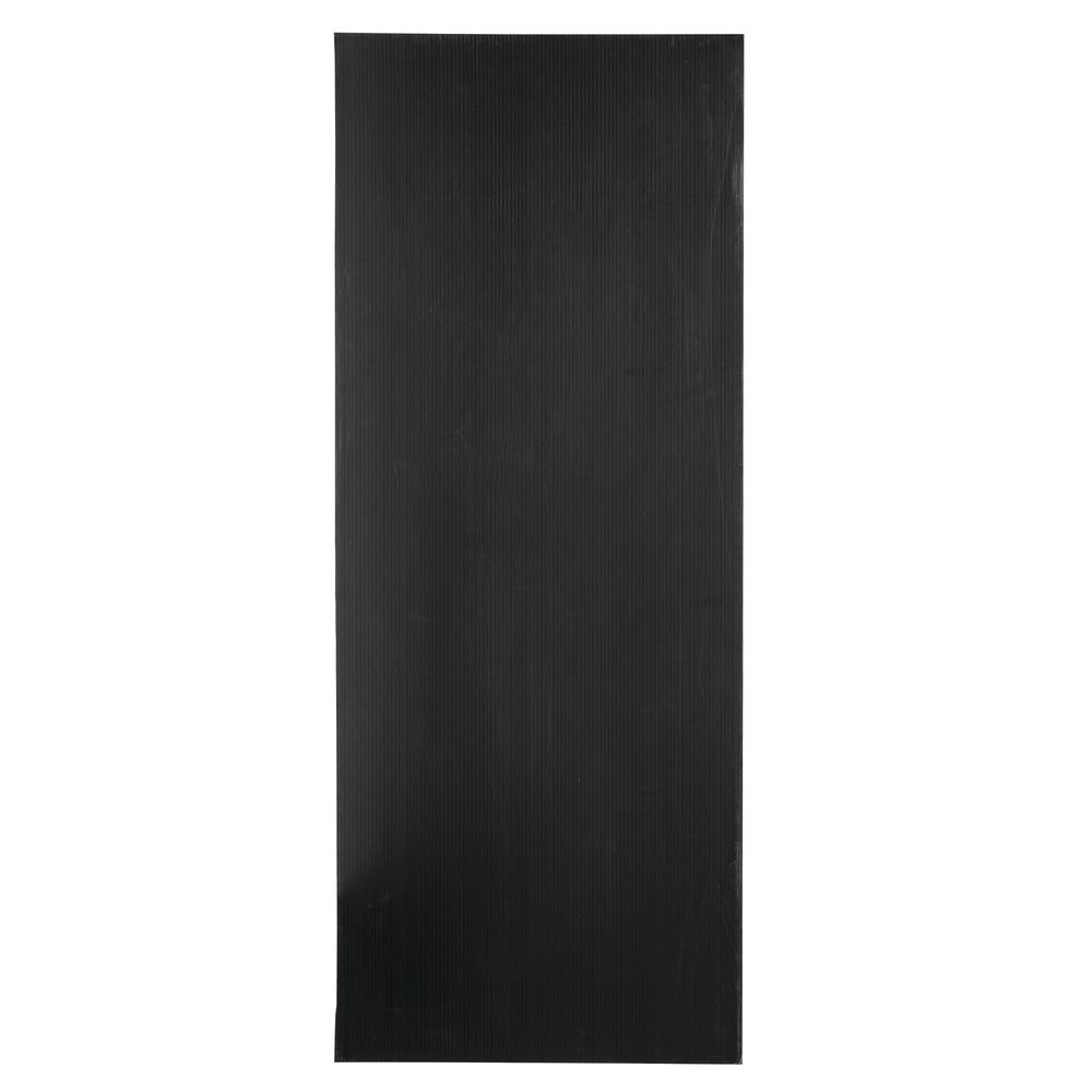 "PANEL, BACK FOR 36""L RACK, BLACK"