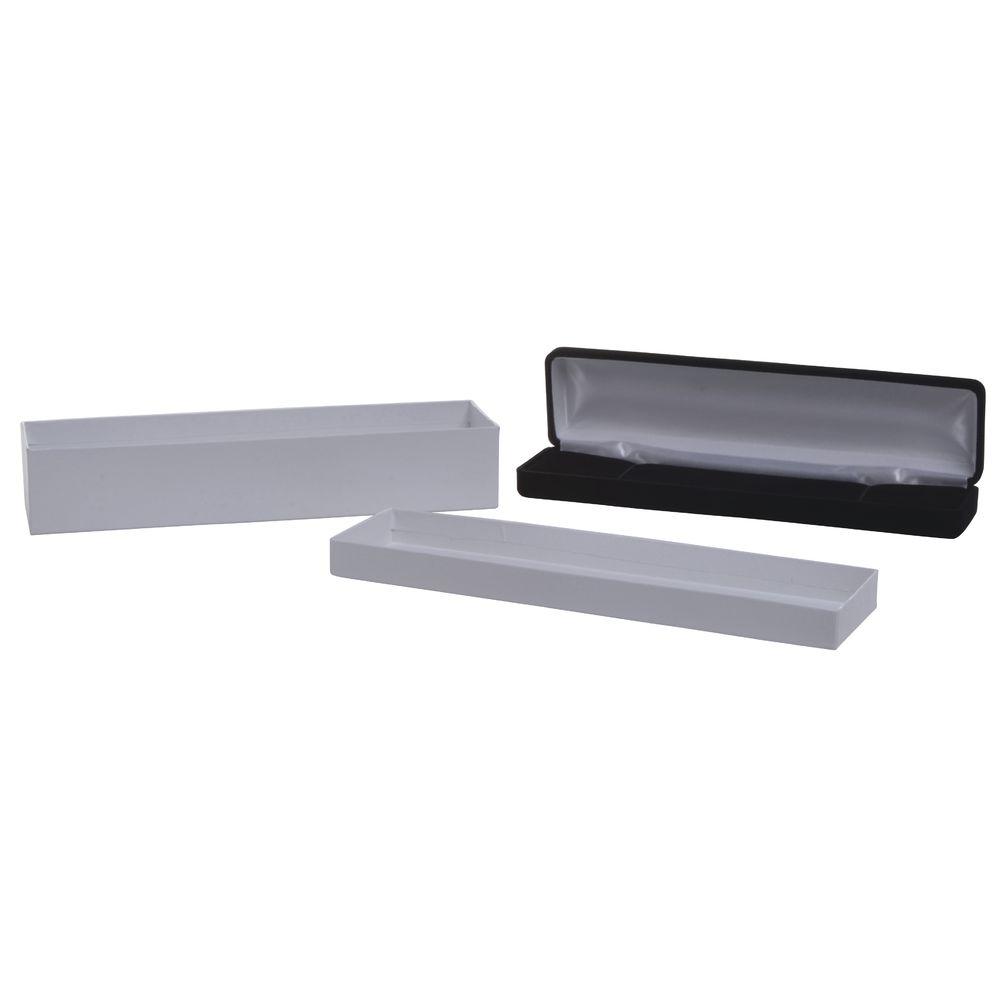 Velvet Bracelet Box, Black, 8 x 2 x 1
