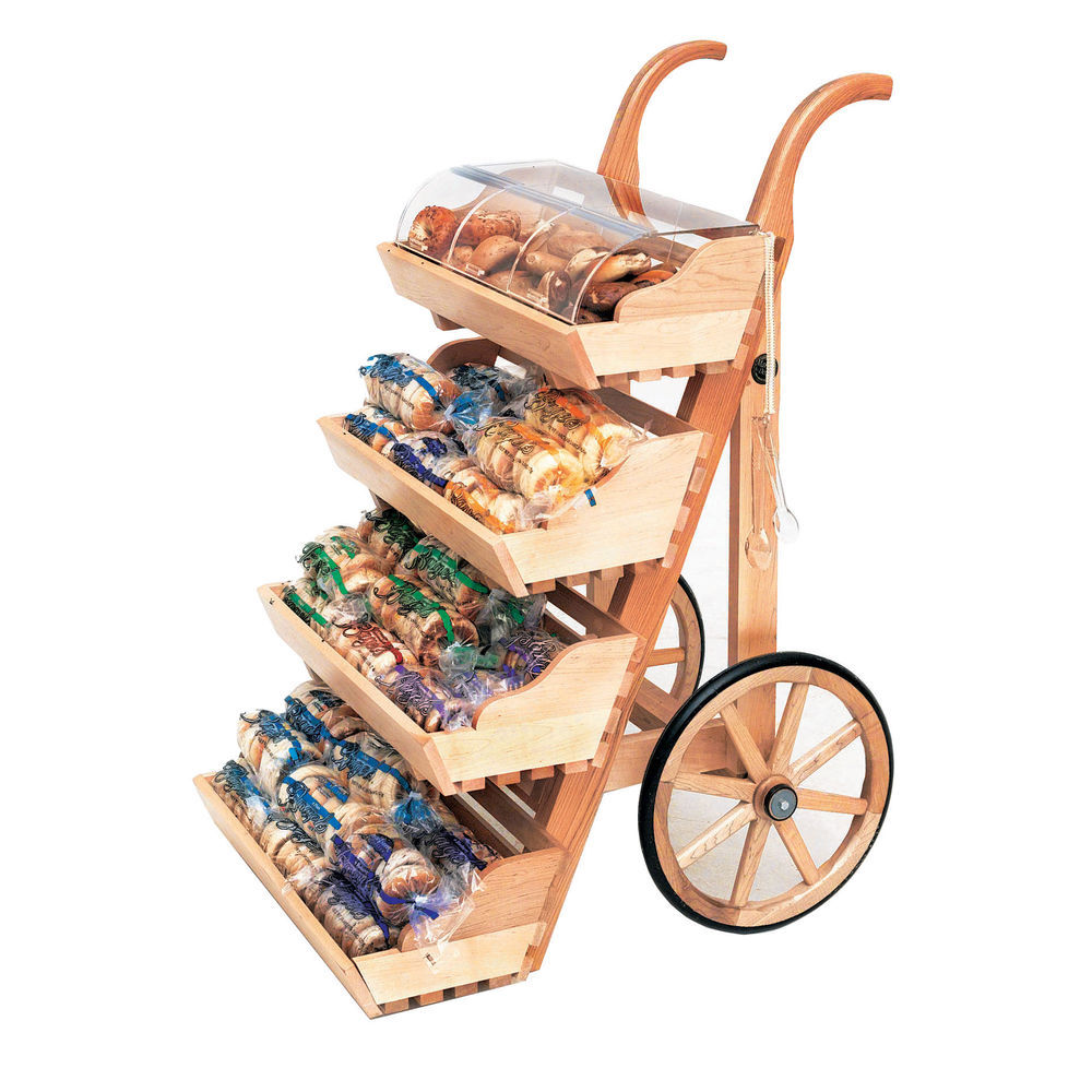 Retail Display Carts & Tables