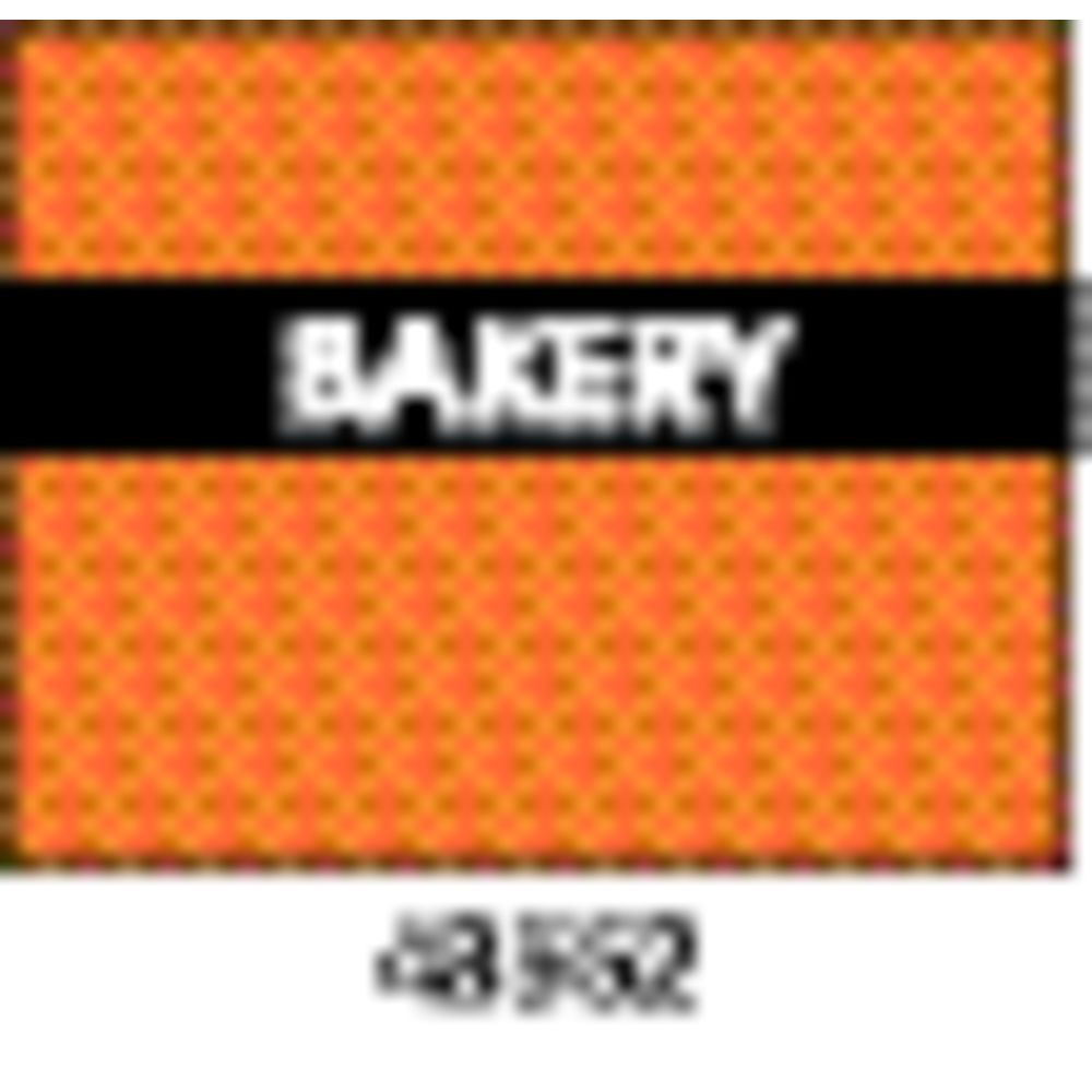 Monarch 1115 Gun Price Labels Bakery Orange And Black With White Print