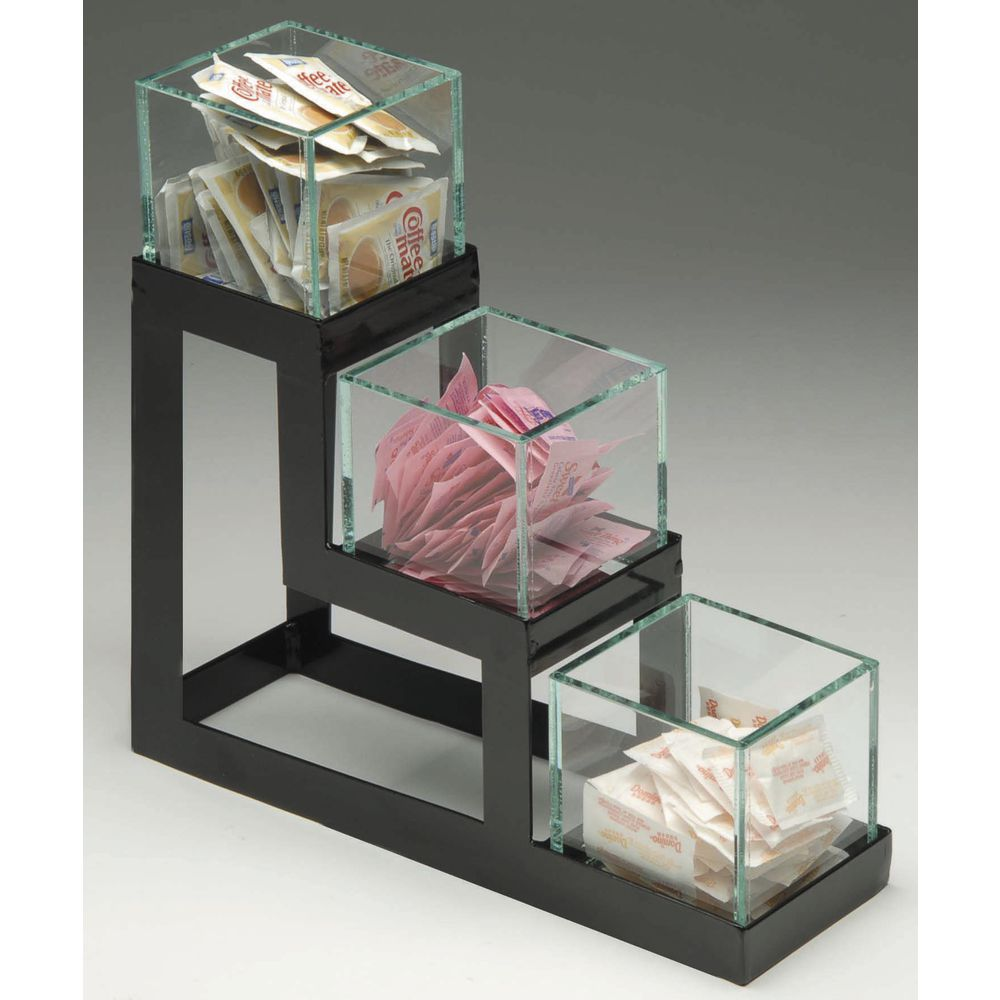 Condiment Holder with Acrylic Bins|Condiment Holder with Acrylic Bins