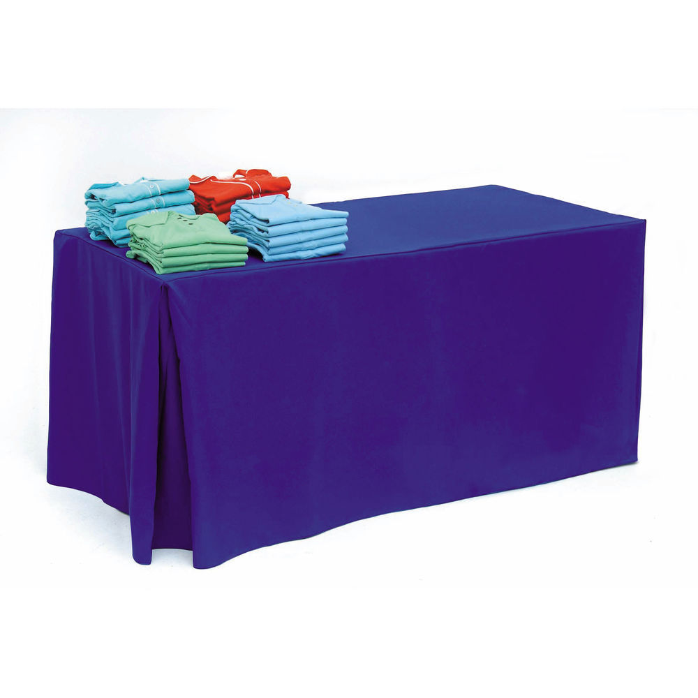 Purple Table Coverings on 6ft Tables