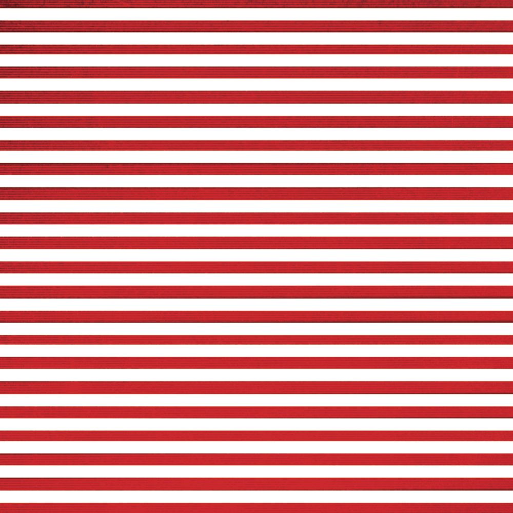 Red and White Striped Wrapping Paper, Quarter Roll