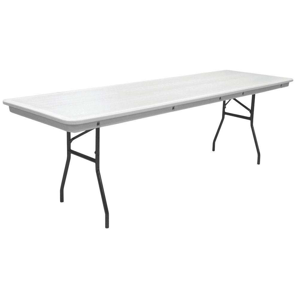 TABLE, FOLDING, PLASTIC, GREY, 96X30X30