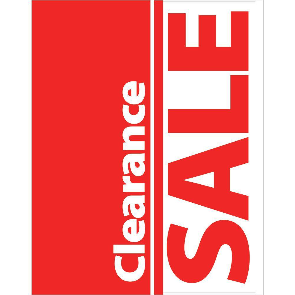 Clearance Sale Signs  11 x 14 (L x H)