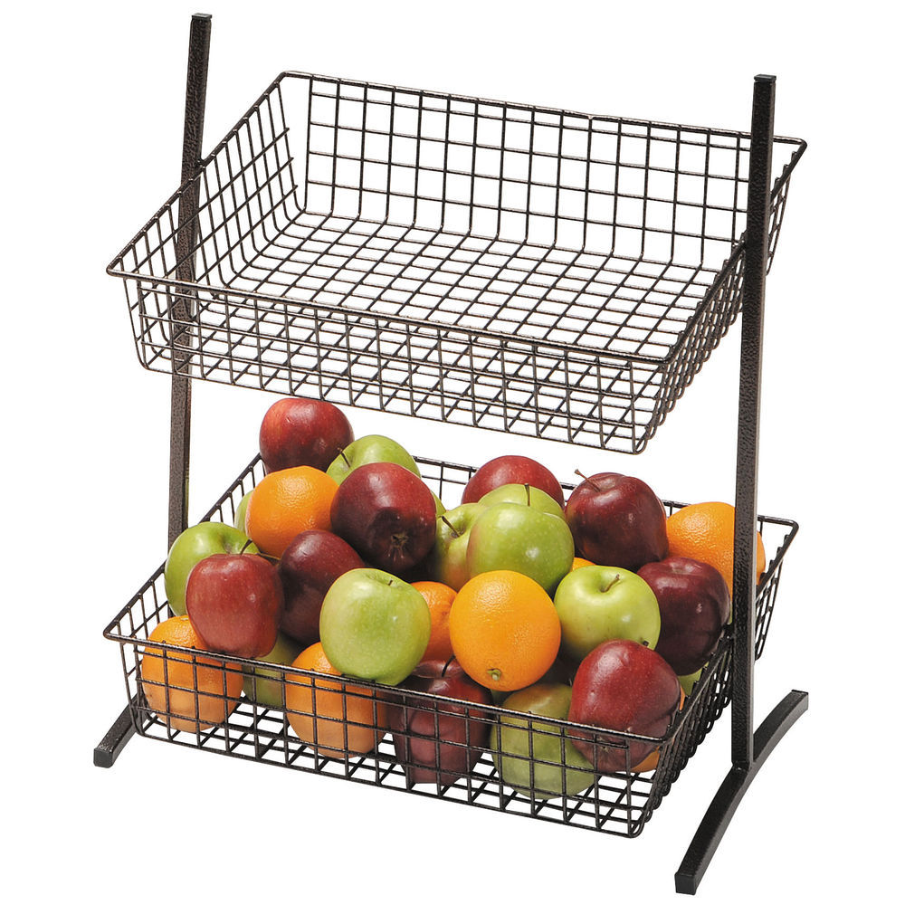 Steel Wire Fruit Basket Stand is Durable