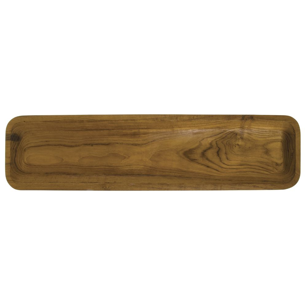 Narrow Teak Tray