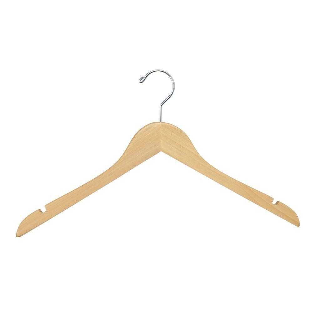 Wishbone clothes hangers