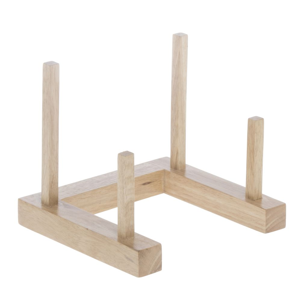PLATE RACK SINGLE SLOT WOOD NATURAL  sc 1 st  Retail Resource & Wood Plate Rack Single Slot