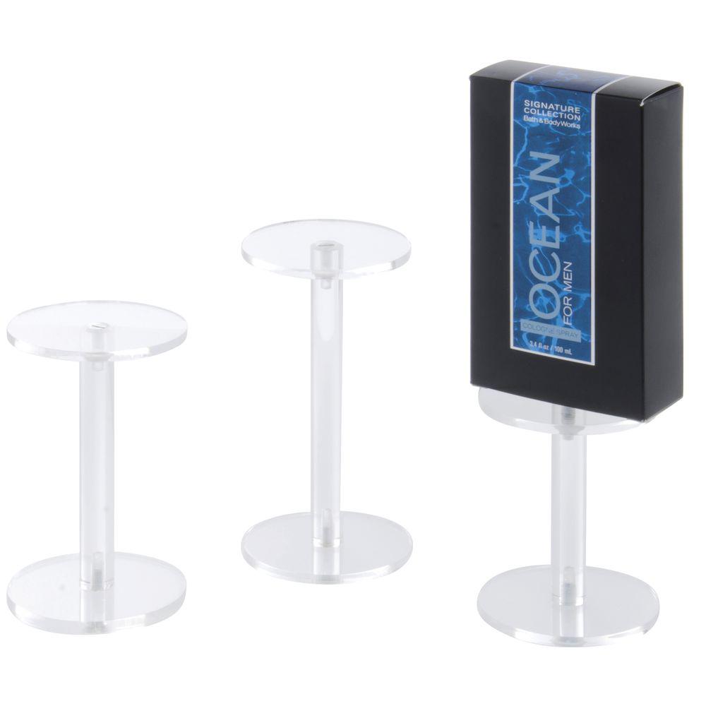 Set of 3 Plastic Pedestal
