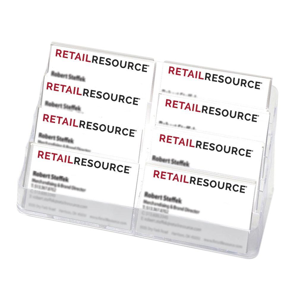 Multiple Business Card Holder Eight Pocket
