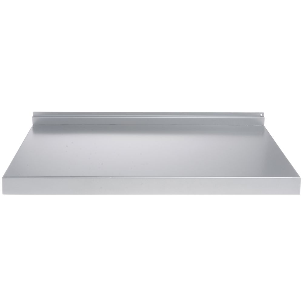 SHELF, SLATWALL, METAL, SILVER, 24""