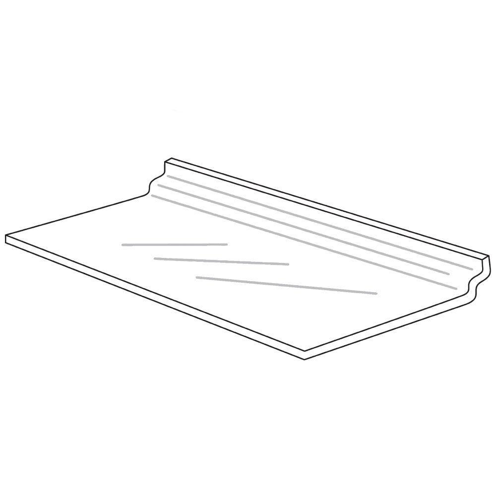 Acrylic Slatwall Display