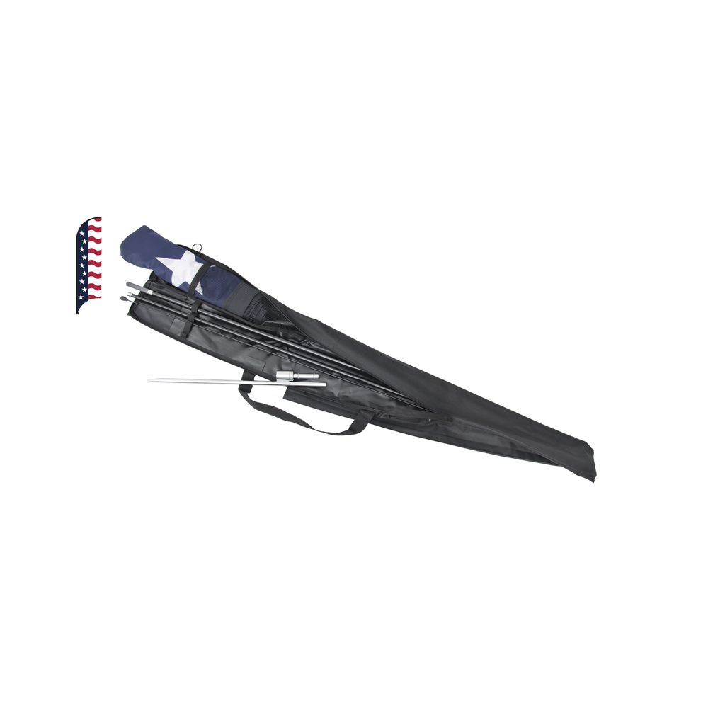 """Stars and Stripes"" Feather Flag Kit"