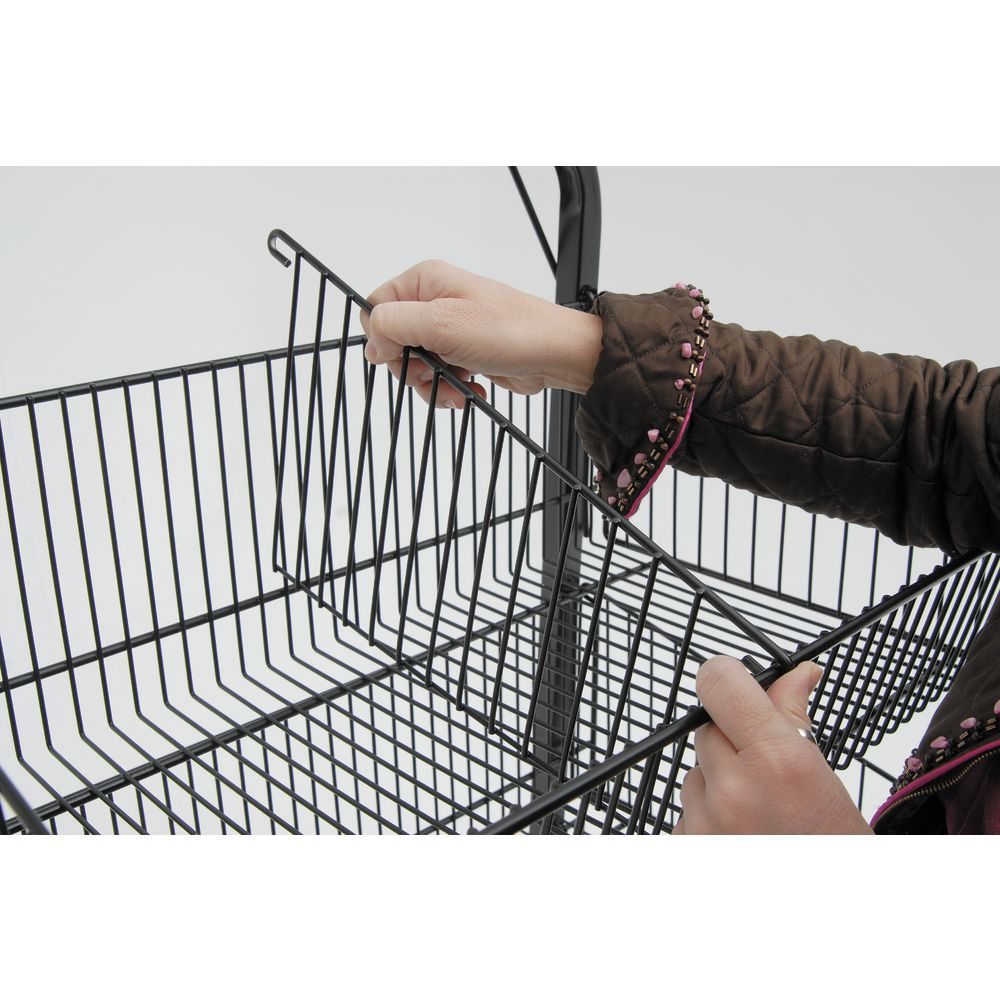 Wire Display Racks with Two Back Wheels