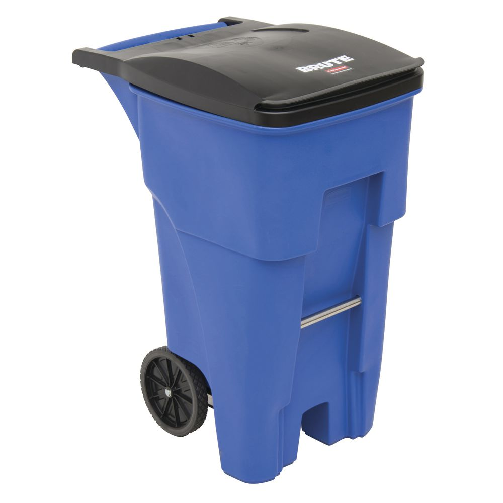 65 Gallon Blue Receptacle