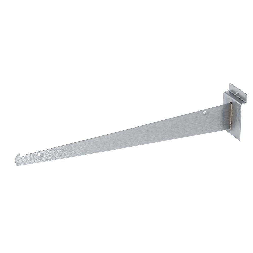 "14"" Chrome Slatwall Shelf Brackets"