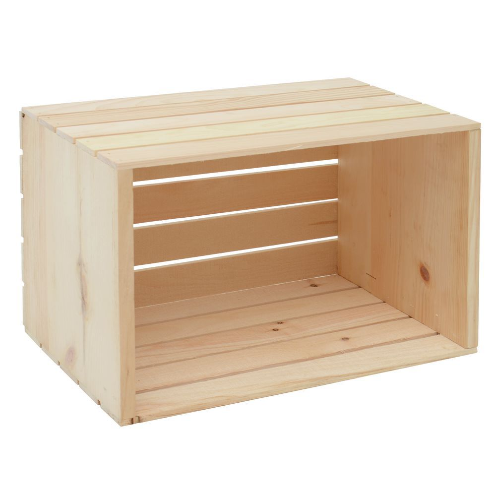 Small Wood Crate Riser