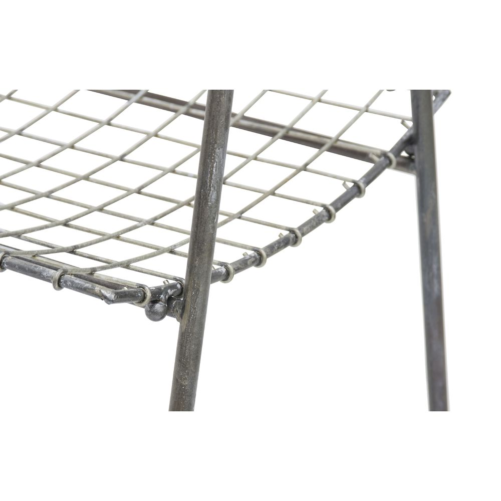 """RACK, 3TIER, WIRE, BROWN, 44.5""""H"""