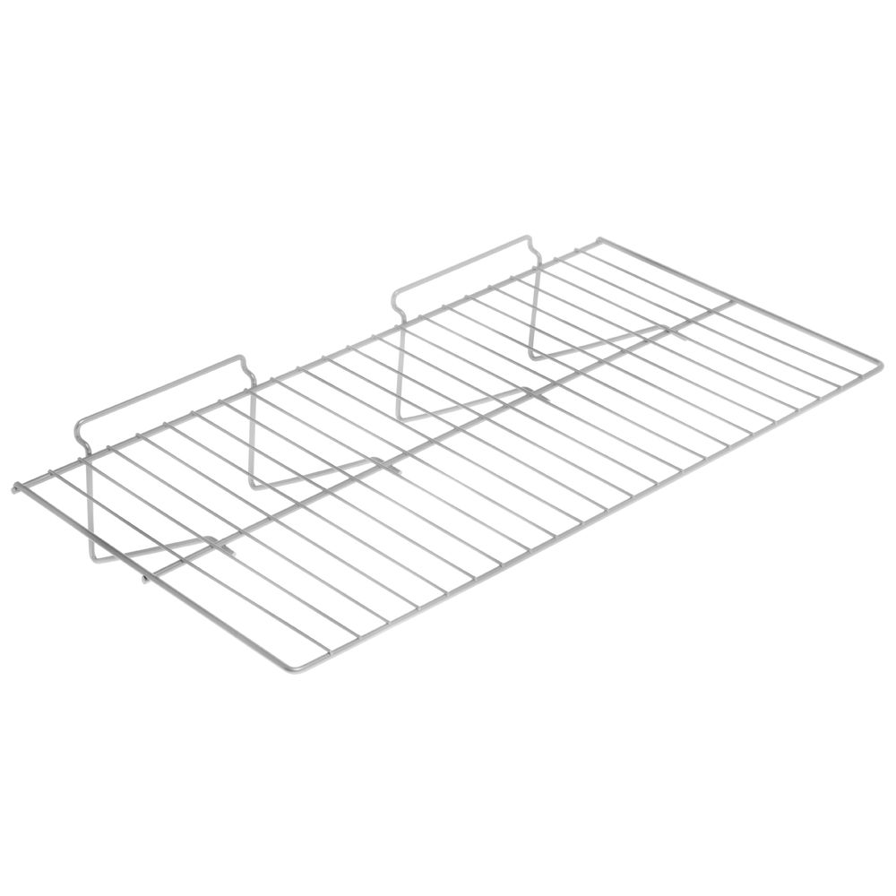 Chrome Slatwall Wire Shelf