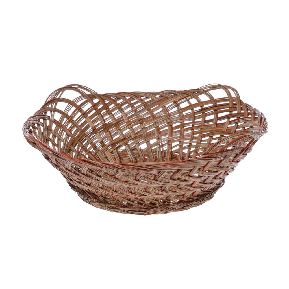 Round Coco Wicker Gift Basket