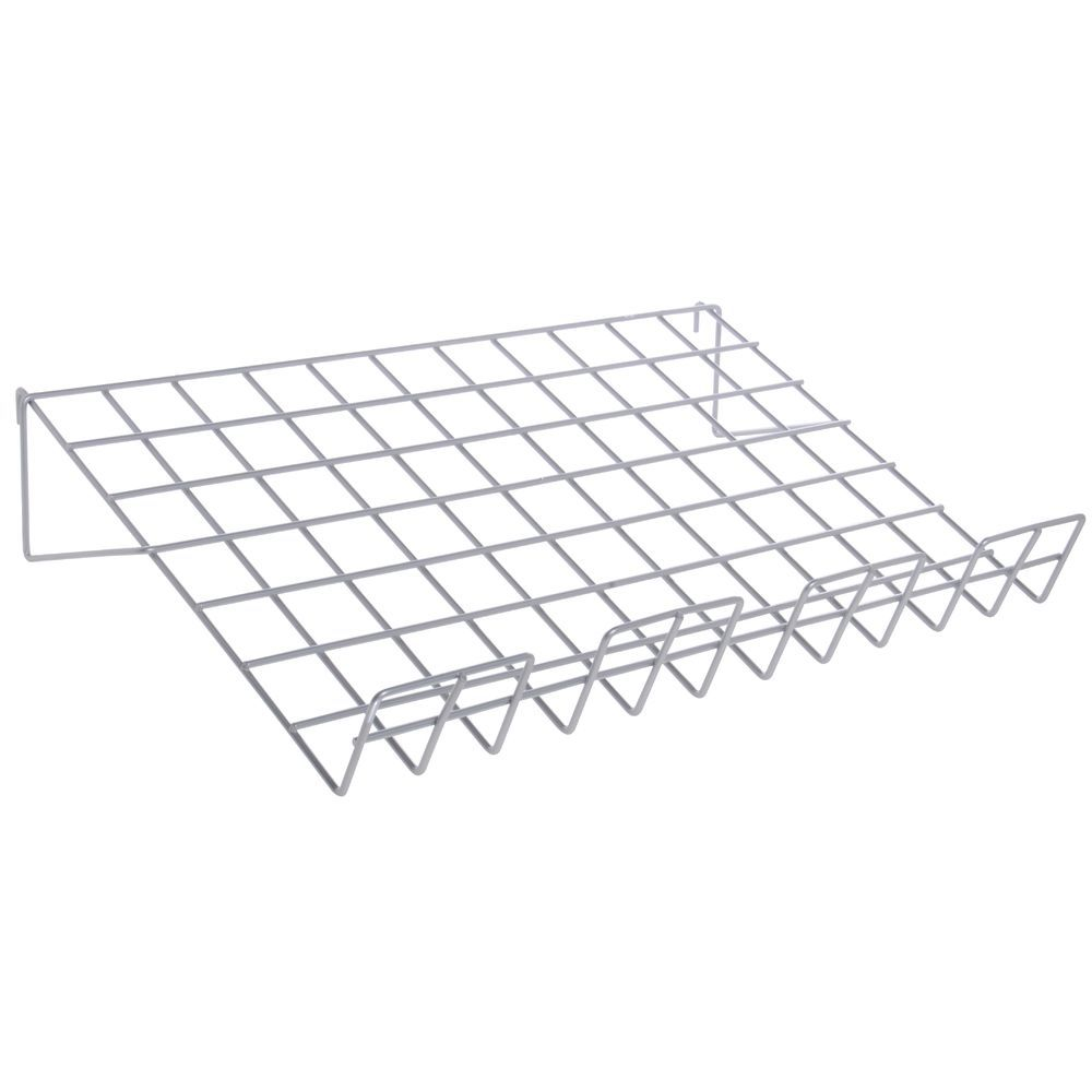 Sloping Gridwall Shelf