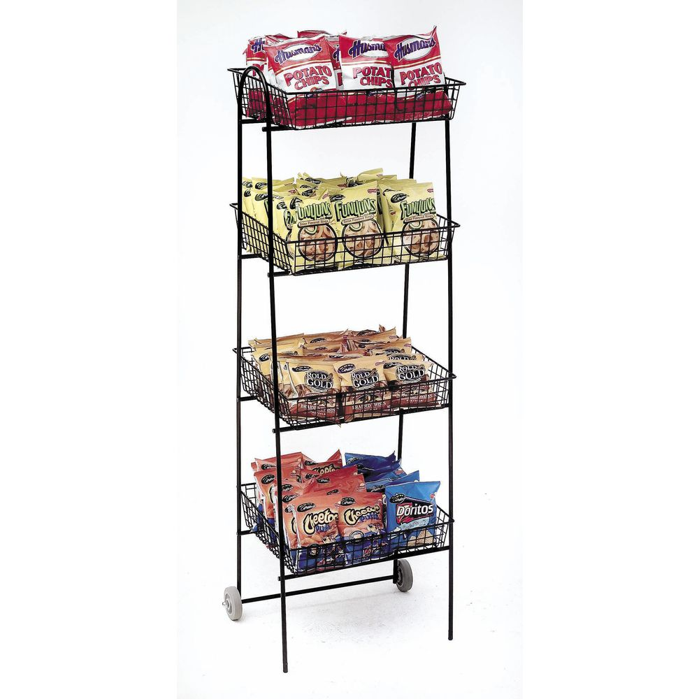 snack chips wire snacks folding metal hanging display potato rndjzhgbgucy advertising shelf product china rack
