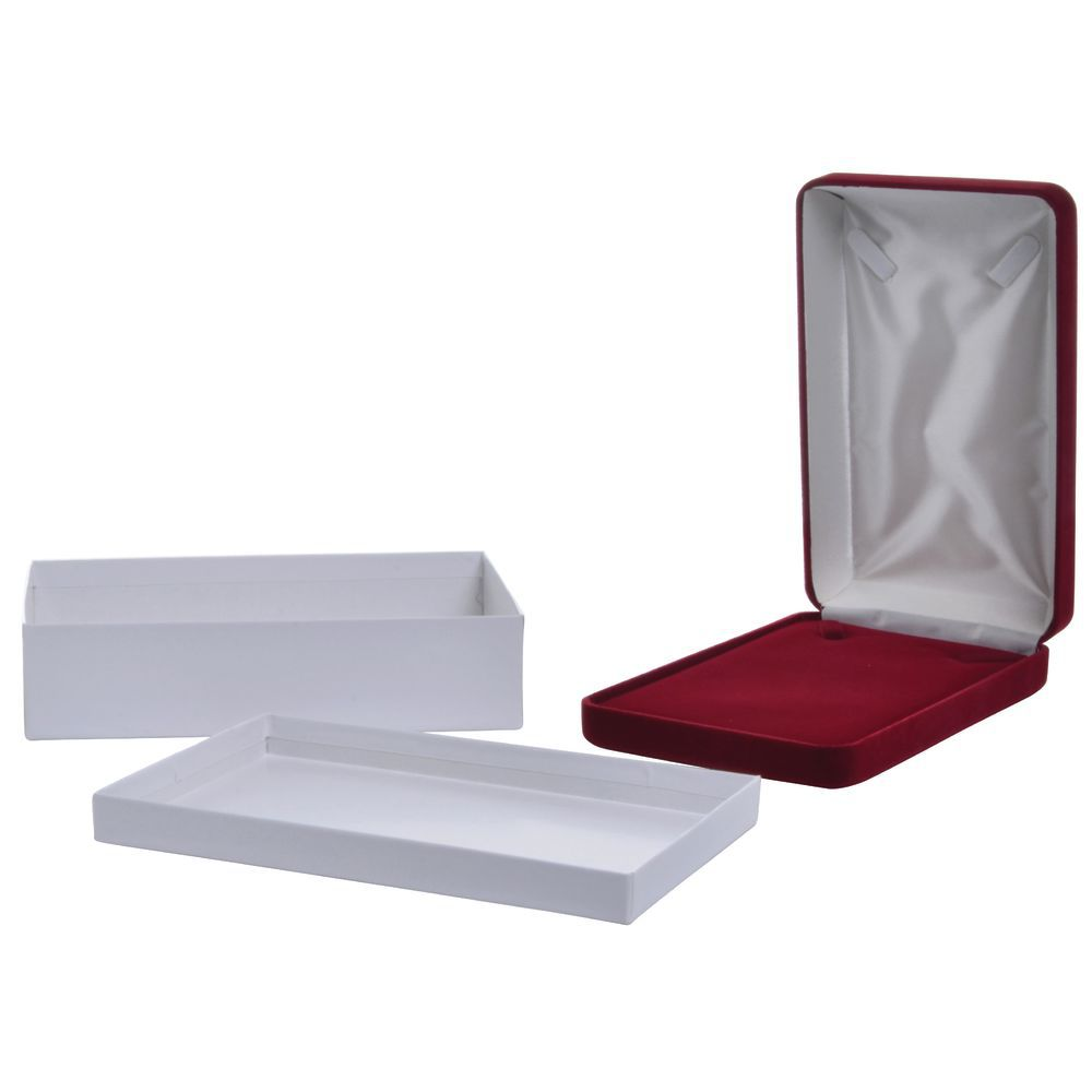 Dior Red Velvet Necklace Box